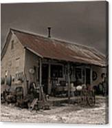 Noland Country Store Canvas Print