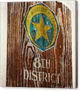 Nola's 8th District Canvas Print