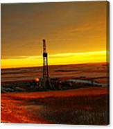 Nomac Drilling Keene North Dakota Canvas Print