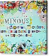 Nominus  Canvas Print