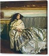 Nonchaloir Repose Canvas Print