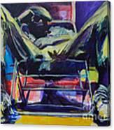 Noon Nap Canvas Print