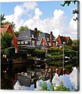 Noorder Amstelkanaal Amsterdam Canvas Print