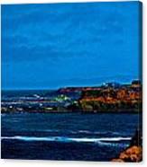 Nor Cal Seascape Canvas Print