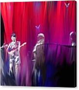Norah Jones On Stage Canvas Print
