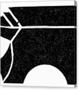 Nordic Symbol Anvil Canvas Print