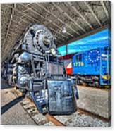 Norfolk And Western 1218 And 1776 Canvas Print