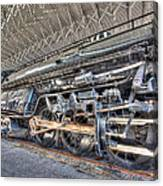 Norfolk And Western Locomotive 1218 Canvas Print