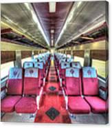 Norfolk And Western Passenger Coach Canvas Print