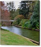 Norfolk Botanical Gardens Canal 3 Canvas Print