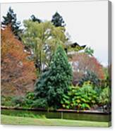 Norfolk Botanical Gardens Canal 9 Canvas Print