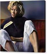 Norma Jeane Baker Canvas Print