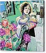 Norma Shearer Canvas Print