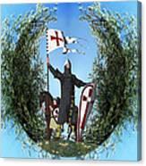 Norman Crusader Canvas Print