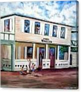 Normandie Bar St Thomas Canvas Print