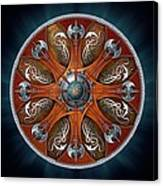 Norse Aegishjalmur Shield Canvas Print