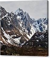 Norse Spring Mountains Canvas Print