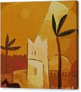 North Africa Canvas Print