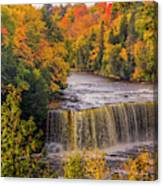 North America, Usa, Upper Peninsula Canvas Print