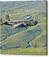 North American B-25g Mitchell Bomber Canvas Print