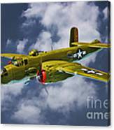 North American B-25j Canvas Print