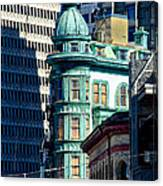 North Beach Victorian - San Francisco Canvas Print