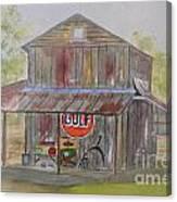 North Carolina Barn Canvas Print