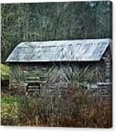 North Carolina Country Barn Canvas Print