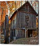 North Carolina Grist Mill Photo Canvas Print