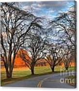 North Carolina Sloan Park Sunset Canvas Print