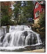 North Carolina Waterfall Canvas Print