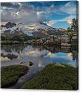 North Cascades Tarn Reflection Canvas Print