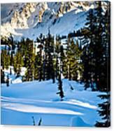 North Cascades Winter Canvas Print