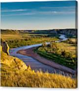 North Dakota Badlands Canvas Print