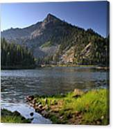 North Face Of Jughandle Mountain Canvas Print
