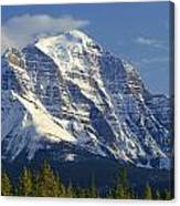 1m3549-north Face Of Mt. Temple Canvas Print