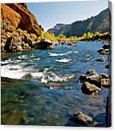 North Fork Of The Shoshone River Canvas Print