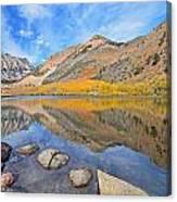 North Lake Reflections Canvas Print