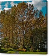 North Lions Park In Mount Vernon Washington Canvas Print