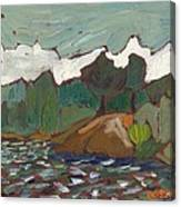 North Of Kingston Canvas Print