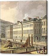 North Parade, From Bath Illustrated Canvas Print
