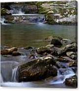 North Prong Of Flat Fork Creek Canvas Print