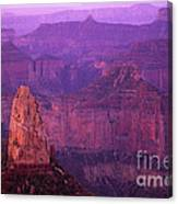 North Rim Grand Canyon Canvas Print