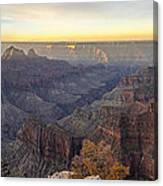 North Rim Sunrise Panorama 2 - Grand Canyon National Park - Arizona Canvas Print