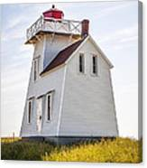 North Rustico Lighthouse Canvas Print