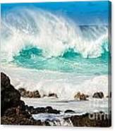 North Shore Crash Canvas Print