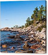 North Shore Of Lake Superior Canvas Print