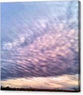 North Texas Sky Canvas Print