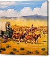 North To Abilene Canvas Print