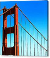 North Tower Golden Gate Canvas Print
